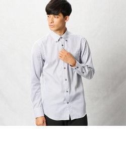 形態安定ロンドンストライプシャツ