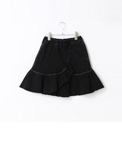 【Jrサイズ】きスカート風女児ボトム