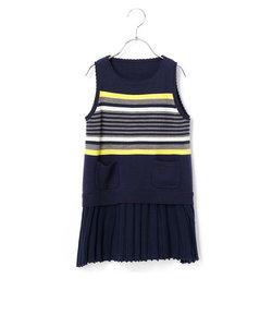 リバーシブルニットドレス