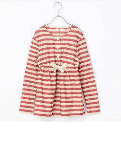 【ジュニアサイズ】茜染めノーカラージャケット