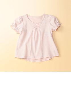 シャーリング半袖Tシャツ(女の子)