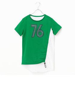 ベースボール風ロングTシャツ