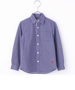 ジャージ素材ベーシックシャツ