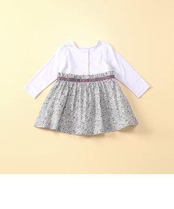 小花柄ドレス