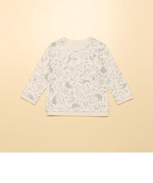 アニマルプリント Tシャツ