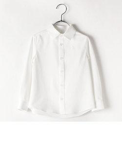 台襟付きシャツ