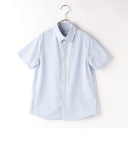 〔140cm~〕台衿付き半袖シャツ