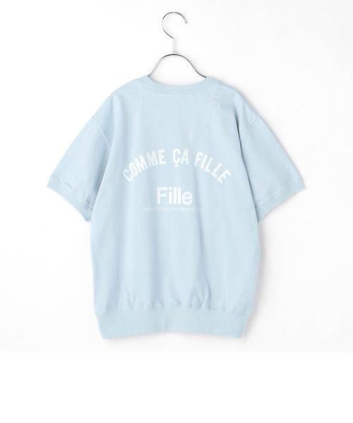 〔140cm~〕ロゴTシャツ