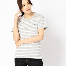 〔ONIGIRI〕【ユニセックス】ボーダークルーネックTシャツ