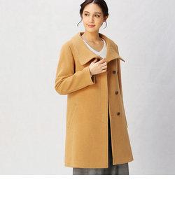 スタンドカラー コート
