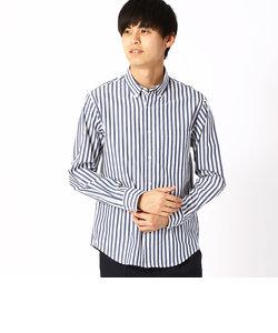 釦ダウン ロンスト ベーシックシャツ