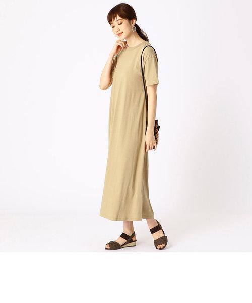 【カラバリ豊富!】マキシ Tシャツ ワンピース