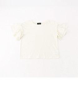 フリル袖 半袖Tシャツ