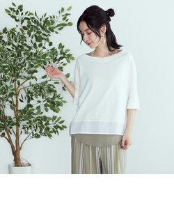 【セットアイテム】 Tシャツ×タンクトップ ロゴプリント