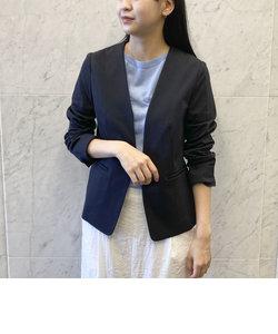 モクロディ ノーカラー ジャージー ジャケット 【オケージョン・フォーマル】