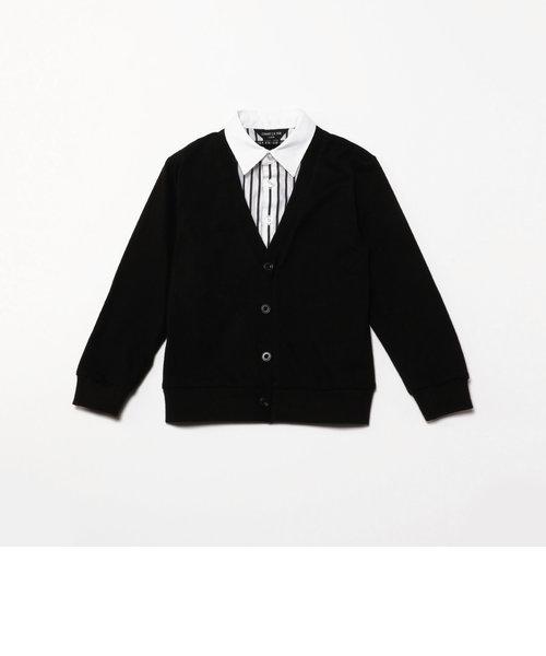 フェイクレイヤード 長袖シャツ(100-130cm)