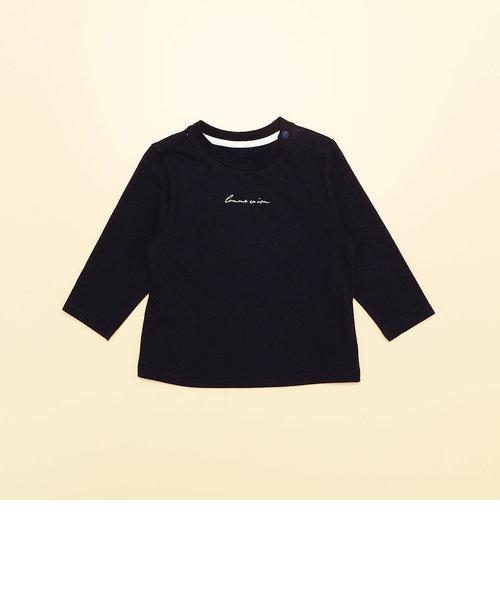 ロゴ 長袖 Tシャツ(80・90サイズ)