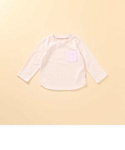 ポケット付き 長袖Tシャツ(80・90サイズ)