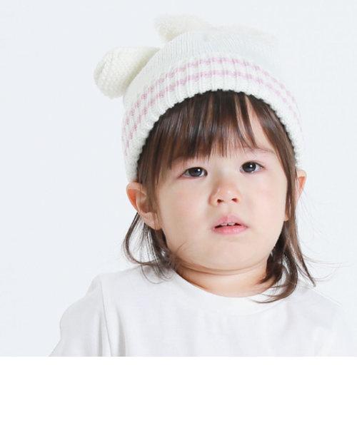 うさぎ耳 ニットキャップ(44-50サイズ)