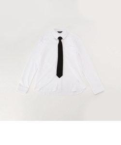 ネクタイ付き 長袖シャツ(140-160サイズ)