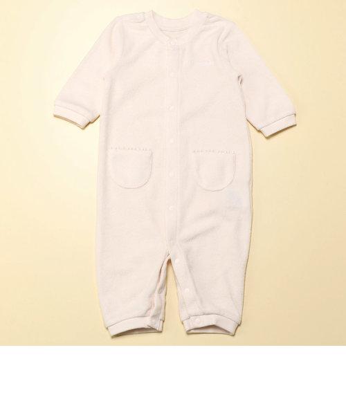 羽根刺繍付き ツーウェイオール(50-70サイズ)