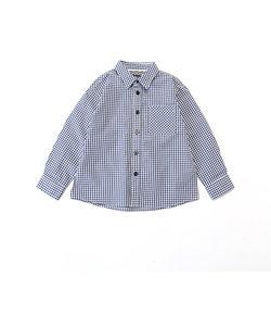 《オーガニックコットン》 ギンガムチェック シャツ