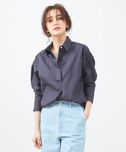 コットンブロードシャツ