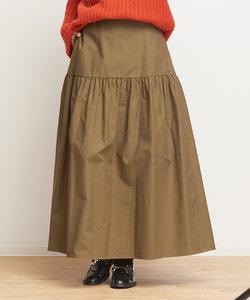 ギャザーマキシスカート