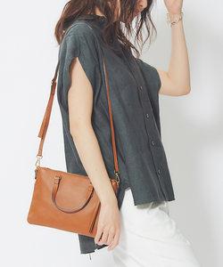【Maison Vincent】 スクエアハンドバッグ