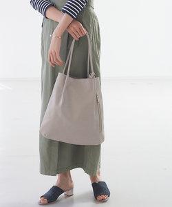 【mieux un】ミニポーチ付きトートバッグ