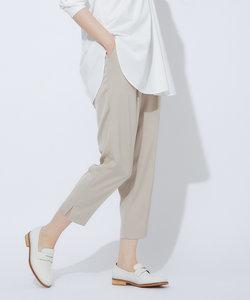 【2020秋新色】【WEB限定】バックサテンスリットパンツ