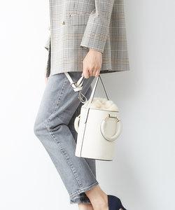 【販売店舗限定】4WAYファー巾着バケツショルダー