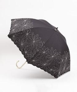 【晴雨兼用】★長傘/マーガレット裾刺繍
