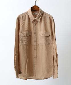 レクセル製品染ミリタリーシャツ