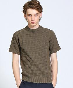 強撚コットンニットTシャツ