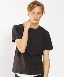 【COTTON LYCRA】圧着クルーネックTシャツ