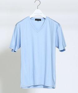 【Recency of Mine】シルフィースムースVネックTシャツ