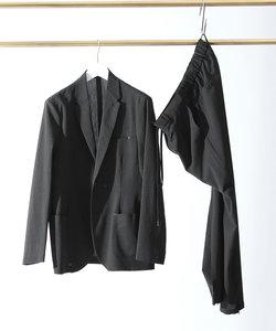 【セットアップ対応】ポリエステル圧着ジャケット