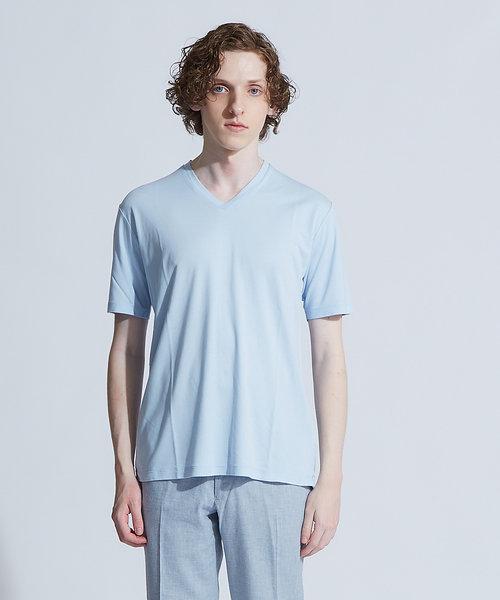 【Recency of Mine】WR スムースVネックTシャツ