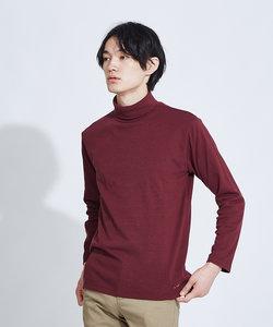 【展開店舗限定】ストレッチタックフライスタートルネックTシャツ