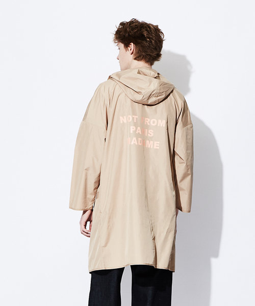 【DROLE DE MONSIEUR】ナイロンフードジャケット