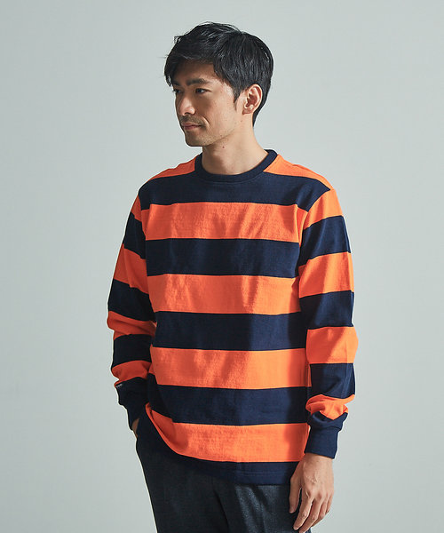 【BARBARIAN】ボーダーロングTシャツ
