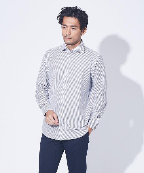 【展開店舗限定】吸水速乾カノコ 長袖シャツ