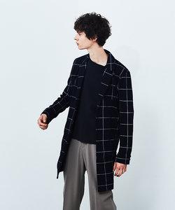 【展開店舗限定】カットチェスターチェック コート