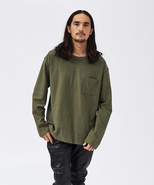 【MMMM】M2024000  ビックシルエット ロングTシャツ