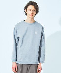 【別注/NEWHATTAN】ロゴ 袖刺繍 ロング Tシャツ