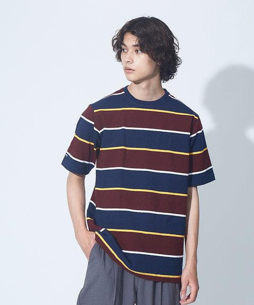 BARBARRIAN 8ozクルーネック 半袖ラガーTシャツ