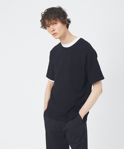 アンサンブル ニット ポケットTシャツ