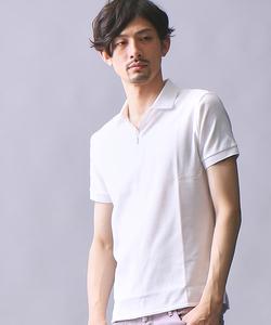 ZIPポロシャツ