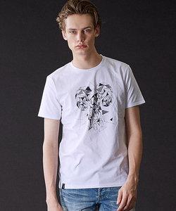 アニマルクルーネックTシャツ